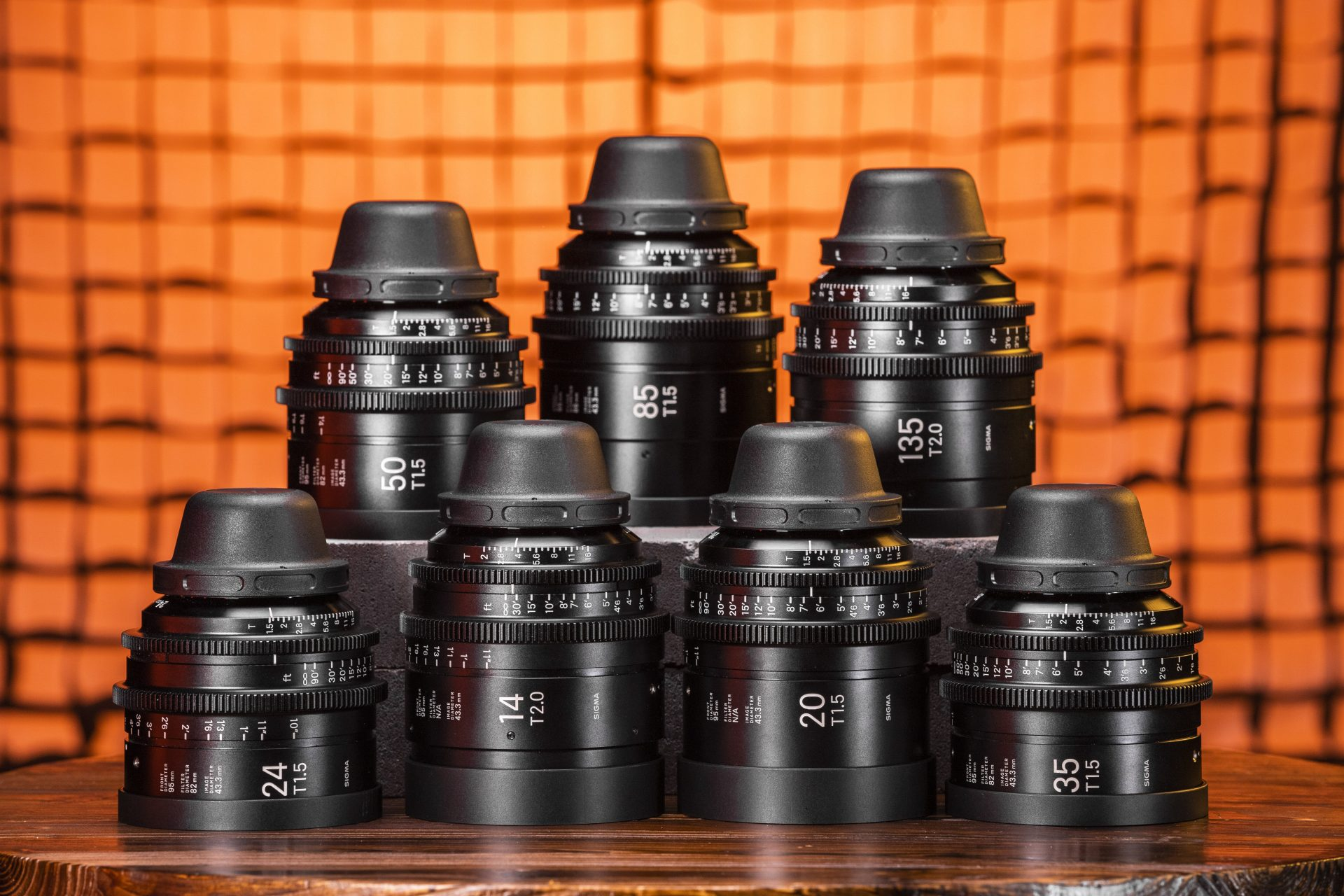 Sigma T1.5 FF High-Speed 7 Prime Lens Kit